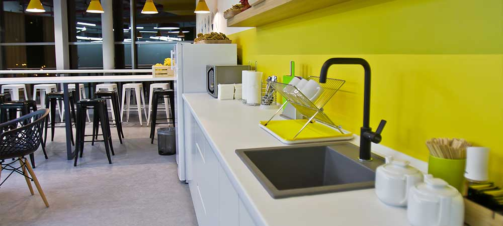 Kitchen in the office